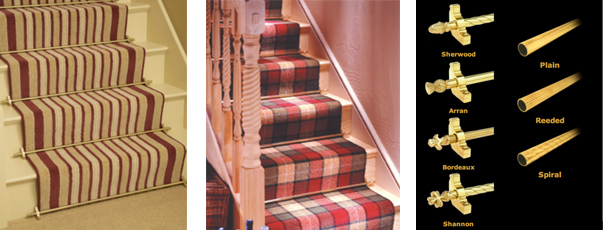 Country Range - Stair Rods